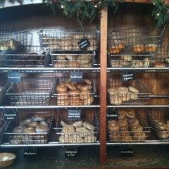Photo taken at Burlington Bagel Bakery & Cafe by BVT P. on 2/9/2011
