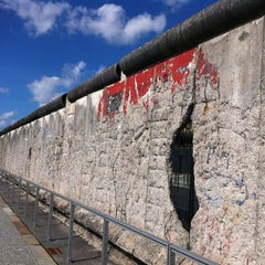 Photo taken at Baudenkmal Berliner Mauer   Berlin Wall Monument by Ahmad 9. on 9/6/2011