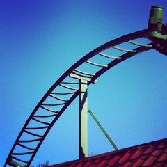 Photo taken at Amusementspark Tivoli by Henk P. on 10/16/2011