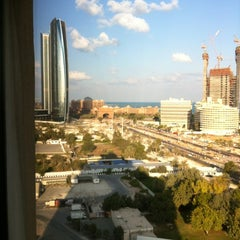 Photo taken at InterContinental Abu Dhabi by Anthony S. on 1/25/2012