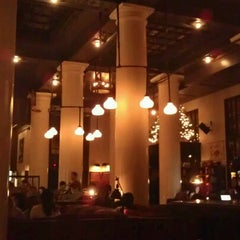 Photo taken at Ace Hotel Lobby Bar by @theMichaelShane on 12/13/2011