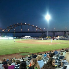 Photo taken at Modern Woodmen Park by Cullen P. on 8/13/2011