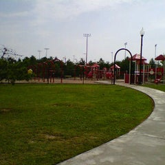 Photo taken at Heritage Point Playground by Billy T. on 6/22/2012