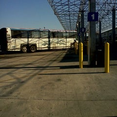 Photo taken at Greyhound Bus Lines by Nancy S. on 2/7/2012