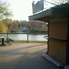 Photo taken at Pub On The Cedar by Justin D. on 10/11/2011