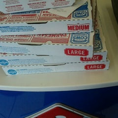 Photo taken at Domino's by robb r. on 3/20/2012