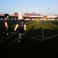 Photo taken at The London Borough of Barking & Dagenham Stadium by Louise C. on 11/19/2011