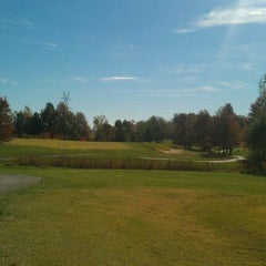 Photo taken at Spencer T. Olin Golf Course by Ryan T. on 10/25/2011