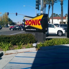 Photo taken at SONIC Drive In by Andrea D. on 12/6/2011