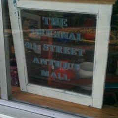 Photo taken at 4th Avenue Antique Mall by Kevin N. on 1/5/2012