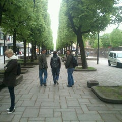 Photo taken at Laisvės alėja | Liberty Avenue | Аллея Свободы by Alexander S. on 5/7/2012