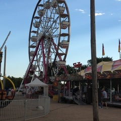Photo taken at Buffalo County Fairgrounds by Leslie B. on 7/27/2012