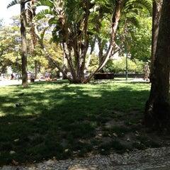 Photo taken at Jardim do Príncipe Real by David N. on 7/14/2012