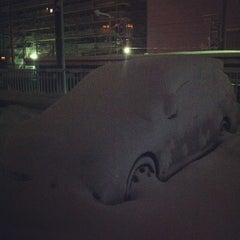 Photo taken at 東金沢駅 (Higashi-Kanazawa Sta.) by 2uda on 2/17/2012