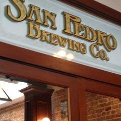 Photo taken at San Pedro Brewing Company by Terika K. on 6/8/2012