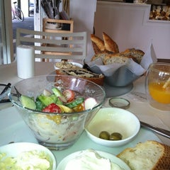 Photo taken at Reviva and Celia (רביבה וסיליה) by Joao F. on 6/14/2012