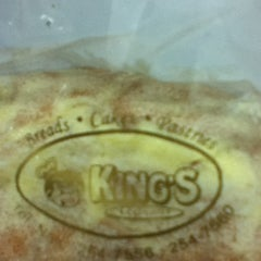 Photo taken at King's Bakeshop by Marven B. on 3/13/2012
