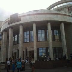 Photo taken at Шуваловский корпус МГУ by Шарон Р. on 6/26/2012
