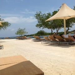 Photo taken at Santa Barbara Beach & Golf Resort Curaçao by Jay d. on 4/24/2012
