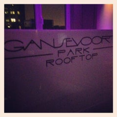 Photo taken at Gansevoort Park Avenue NYC by Alex Poppinton on 2/15/2012