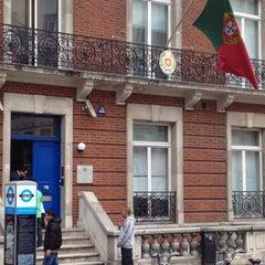 Photo taken at Consulado Geral De Portugal em Londres by Inês E. on 6/26/2012