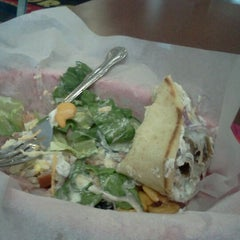 Photo taken at George's Pizza & Gyros by June R. on 3/13/2012