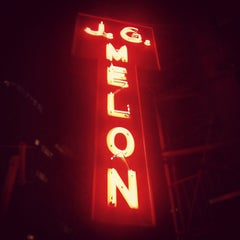 Photo taken at J.G. Melon by Ahmed S. on 8/17/2012