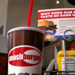 Photo taken at Smashburger by David S. on 3/4/2012