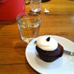 Photo taken at Red Velvet Cupcakery by Megan S. on 4/28/2012