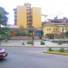 Photo taken at Plaza Bolívar by MK. on 10/28/2011