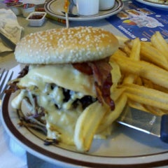Photo taken at Denny's by Amanda T. on 5/10/2012