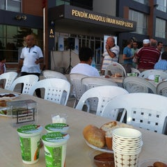 Photo taken at Pendik Anadolu İmam Hatip Lisesi by Fatih Y. on 7/29/2012