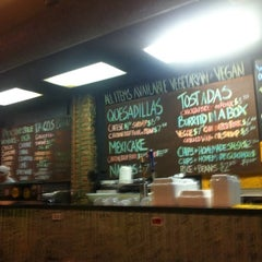 "Photo taken at A1A Burrito Works "" The Taco Shop"" by Wagner d. on 9/24/2011"