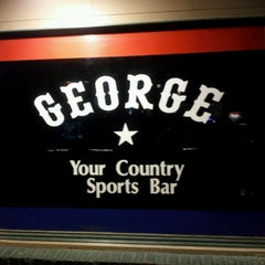 Photo taken at George Country Sports Bar by Mark H. on 4/29/2012