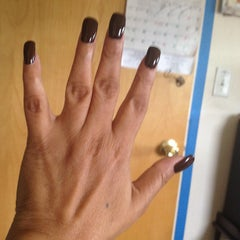 Photo taken at Soho Nails by Millie R. on 8/5/2012