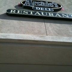 Photo taken at Archie's Delicatessen & Restaurant by Melanie W. on 2/13/2012