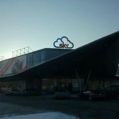 Photo taken at SKY lielveikals by Маргарита Ж. on 1/28/2012