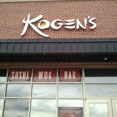 Photo taken at Kogen's by Jenn on 9/6/2011
