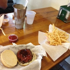 Photo taken at Burger Hut by Anthony on 8/18/2012