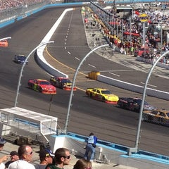 Photo taken at Phoenix International Raceway by Dustin M. on 3/4/2012