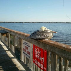 Photo taken at Cape Coral Beach at Yacht Club Community Park by Katie C. on 1/7/2012