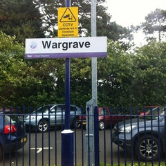 Photo taken at Wargrave Railway Station (WGV) by Alistair M. on 4/26/2012