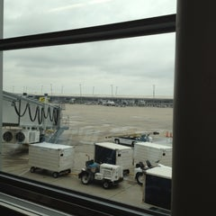Photo taken at Gate A23 by Tim M. on 4/28/2012