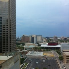 Photo taken at Univision Tower by Heather F. on 8/15/2012