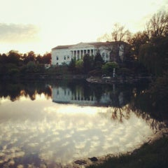 Photo taken at Delaware Park by Kate R. on 5/7/2012