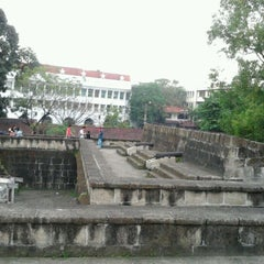 Photo taken at Intramuros by May N. on 12/3/2011
