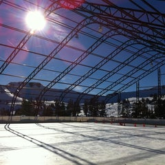 Photo taken at Skating Rink At Squaw Valley by James K. on 1/12/2011