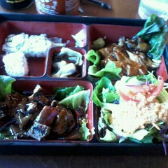 Photo taken at Wasabi Japanese Noodle House by Nancy P. on 9/1/2011