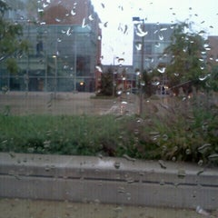Photo taken at UIC - James Stukel Towers by Brittiany H. on 9/18/2011