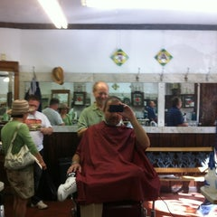 Photo taken at Park Slope Barbers by Marc L. on 6/16/2012